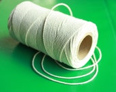 SALE 2 mm Cotton Yarn = 1 Spool = 766 Yards = 700 Meters Natural and Elegant COTTON Twisted CORD - Macrame Cord