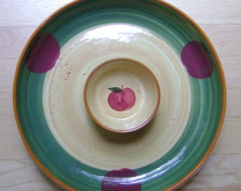 Ceramic Apple Serving Tray