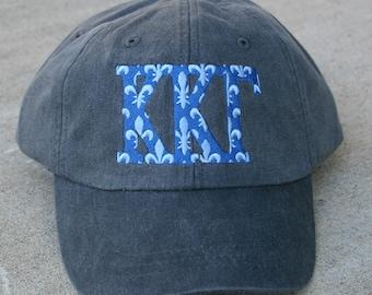 Kappa Kappa Gamma Fleur De Lis baseball cap