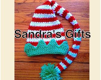 Crochet Elf Long Tail Hat