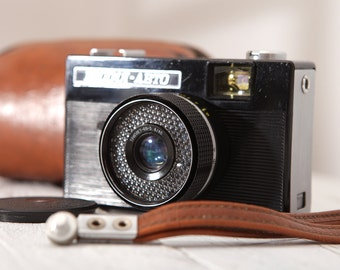 VILIA - AUTO LOMO Scale Vintage Compact Soviet 35mm Film Camera Lomography UssR