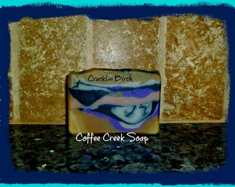 Natural Soap Cracklin Birch