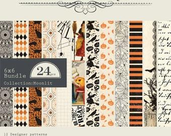 """Authentique Paper Collection """"Moonlit"""" 6x6 Pad"""