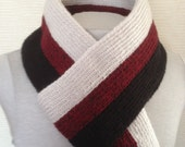 Stylish Scarf for Men.Men's knit Scarf. Unisex Scarf. Men Scarves