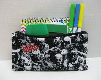 Walking Dead Pencil Case Or Cosmetic Case