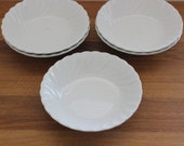 RESERVED for Amelia--Set of 5 Ironstone Dishes--Johnson Bros. Ironstone--Small Ironstone Dishes