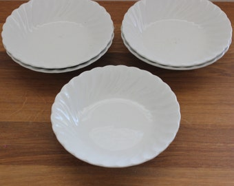 Set of 5 Ironstone Dishes--Johnson Bros. Ironstone--Small Ironstone Dishes