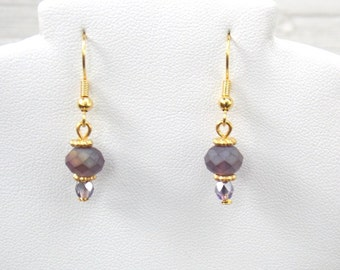 Purple Twilight Earrings