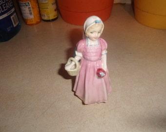 vintage royal doulton girl figurine figure tinker bell hn 1677