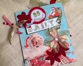 Daily Christmas Scrapbook Keepsake Album SALE