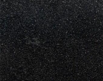 One Pound Bulk Black Craft Sand - Black Craft Sand - Formal Black Craft Sand - Wedding Craft Sand