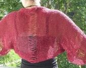 KNITTING PATTERN / Knit Shrug pattern / Easy knitting pattern / Shrug Pattern / memorial day sale