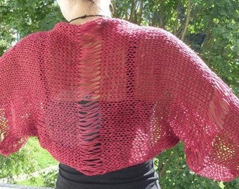 KNITTING PATTERN / Knit Shrug pattern / Easy knitting pattern / Shrug Pattern / memorial day sale