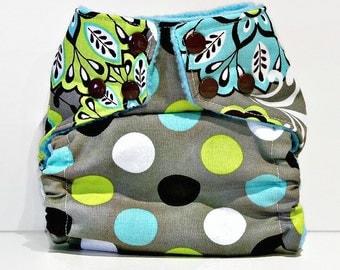 NatureLuxe OS Pocket Cloth Diaper, Cloth Nappy, Reusable Diaper