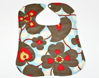 Amy Butler Lotus Baby and Toddler Bib