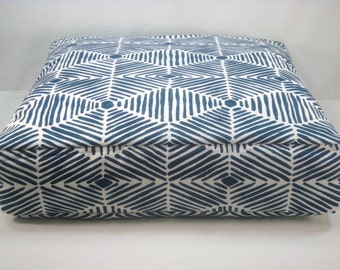 Floor Pillow Floor Seating Boxed Floor Pillow Boxed Cushion Reversible Pillow Floor Cushion Batik Cushion Covers Only