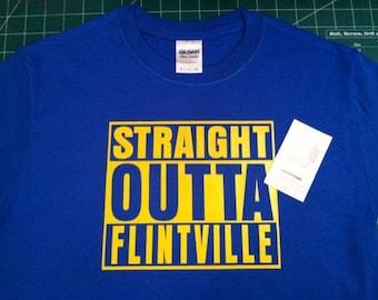 Straight Outta Flintville shirt tshirt  -  infant toddler children small med large xlarge 2xl 3xl