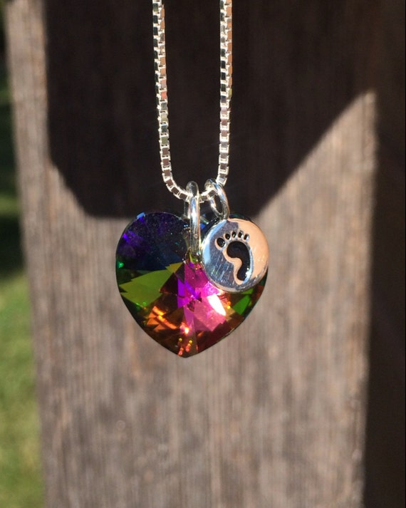 Rainbow Baby After Miscarriage Necklace