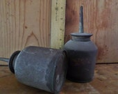 Vintage Small Oil Dispenser Cans