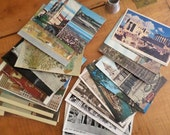 Collection of 25 Vintage Postcards
