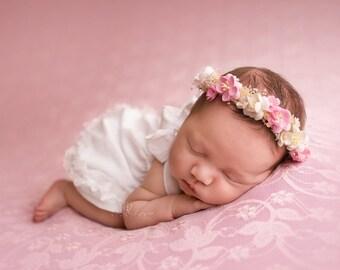 Baby White Summer Dress, Newborn Photography Prop White Dress, Baby White Dress, Baby Dress, Girls White Dress, Photography Prop, UK Seller