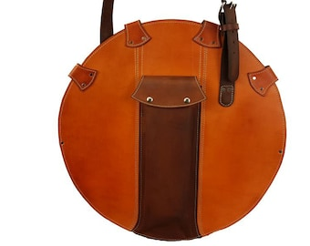 All Leather Cymbal Carrying Case