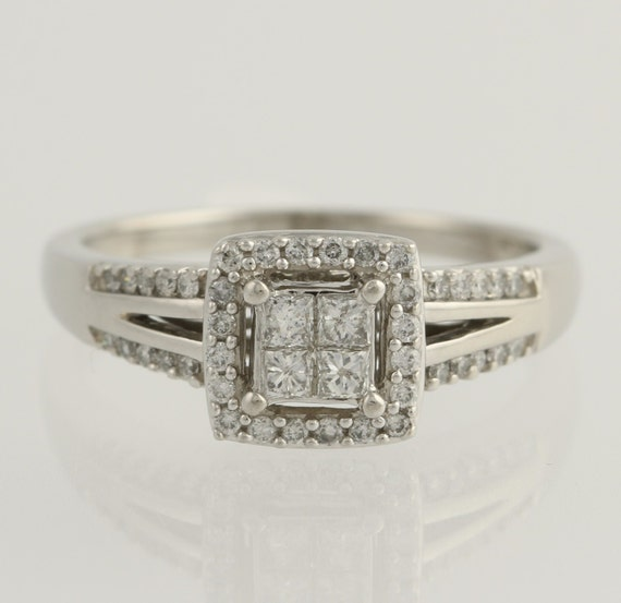 Engagement Ring Zales posite Diamond 10k by WilsonBrothers