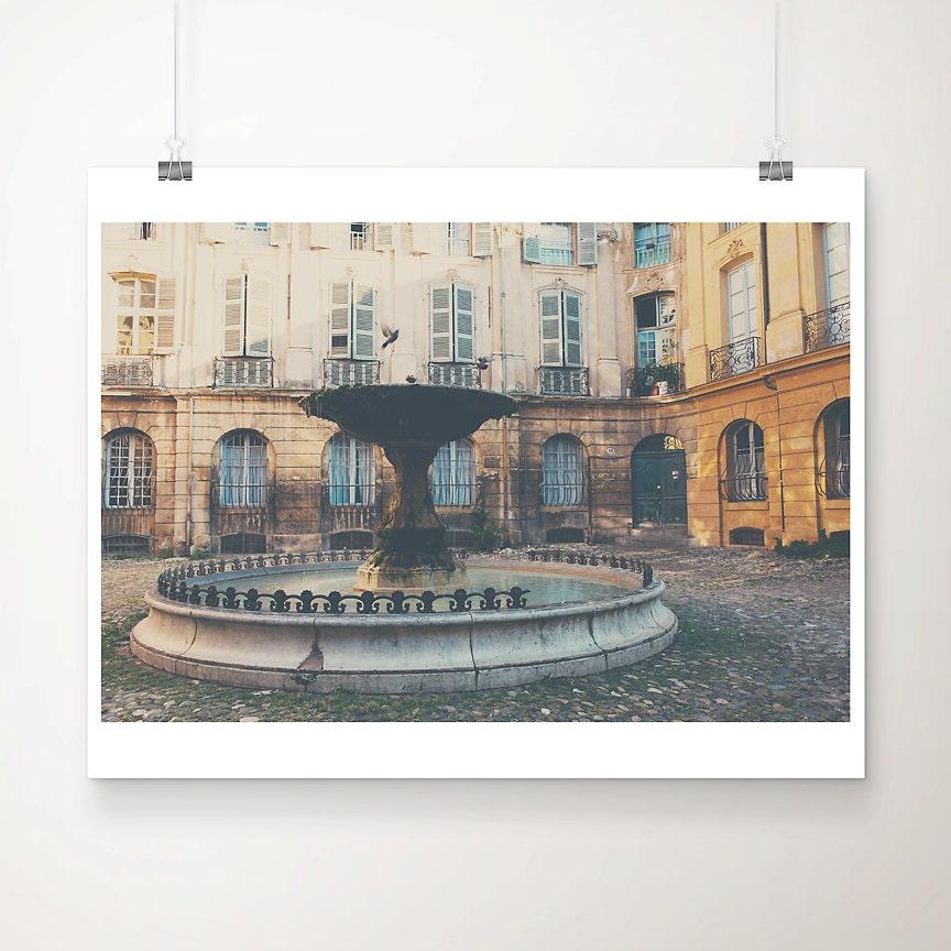 Aix en provence photograph french decor france photograph for Decoration rocaille aixen provence