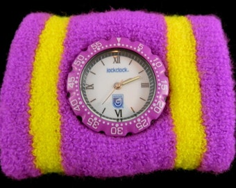 1990's Jock Clock Sweatband Watch New never used
