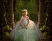 Flower Crown ...Vintage Inspired...Birthday crown...Flower Girl..Photo Prop