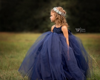 Avalee Dress~ Fully lined Tulle Dress, Custom Colors and design, Perfect for weddings, parties and photo shoots