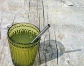 Stainless Steel Short Straws - 4 Pack for Kids, Mugs, and Cocktails - Reusable and Eco Friendly - Lifetime Guarantee
