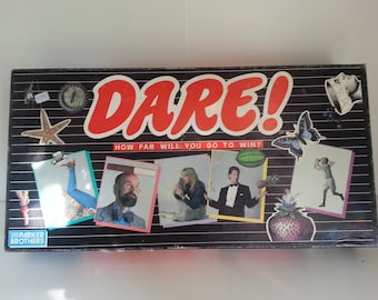 1988 Parker Brothers Dare - Game night
