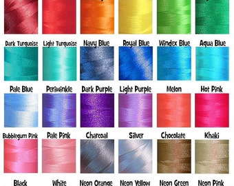Thread Colors For Embroidery