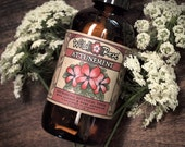 Facial Toner Herbal ATTUNEMENT - Nourishing Astringent with Carrot & Rose Geranium - 120ml // 4oz