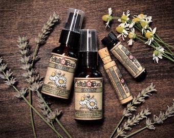 Skin Care Gift Set CLARITY Purifying Botanical Spa Sampler Gift for Her Under 20