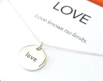 Love Charm Necklace Set