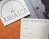 Anhaica Gift Card