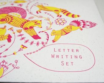 Letter Writing Set - Arboreal + Airborne