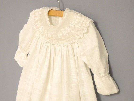 Vintage Baby Clothes Handmade Victorian White