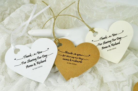 Wedding Favor Tags Messages : ... Tags with your Message, Wedding Favor Tags, Valentines Party Tags