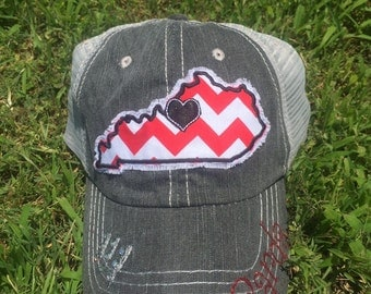 Unique Kentucky Trucker Hat Related Items Etsy