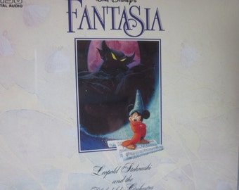 Disney Mickey Mouse Fantasia Double Disk CD Remastered Original Sound track