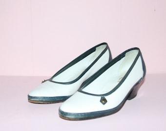 Amalfi Flats/White Loafers/Sz 6.5