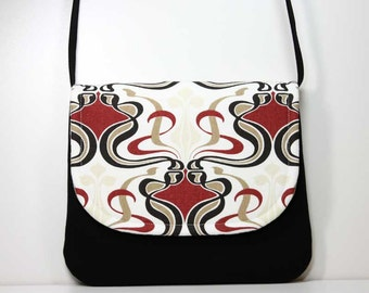 Small Foldover Crossbody Bag Small Shoulder Purse Sling Bag Hobo Bag Cross Body Bag Hipster Bag - Ready to Ship