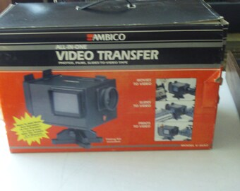 Vintage Ambico Film to Video Transfer Machine