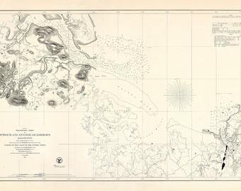 Ipswich and Annisquam Harbors 1855
