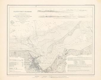 Nantucket Harbor 1848
