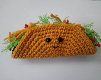 PDF or Word Pattern for Taco Amigurumi