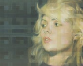 Debbie Harry Signed and Titled Mounted Print